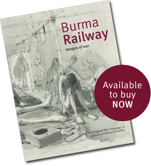 Jack Chalker's book Burma Railway - Images of War